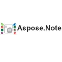 Aspose.Note - OSB Software