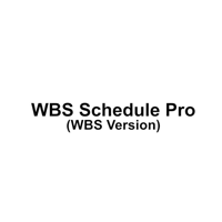 WBS Schedule Pro (wbs)
